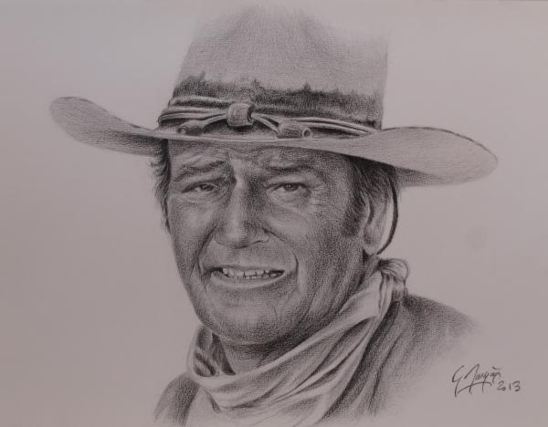 John Wayne por magerar